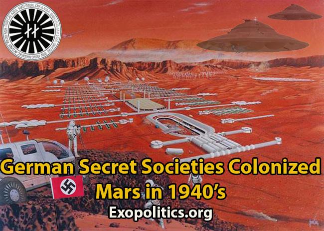 Basen auf dem Mars