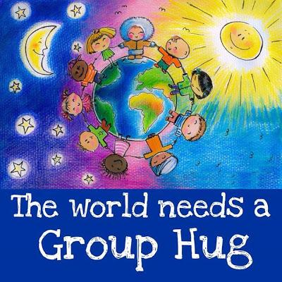 World group hug