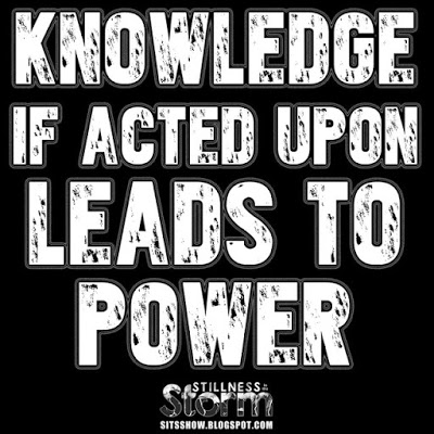 Knowledge leads to power