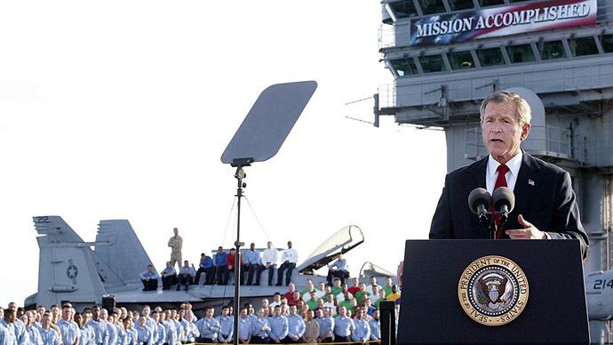George W. Bush könnte wegen Kriegsverbrechen in Irak vor Gericht gestelltwerden