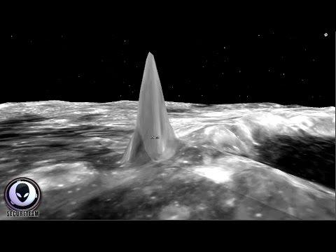 """Gleich mehrere """"Alien-Türme"""" ragen hier vom Mond in Kilometerhöhe –VIDEO"""