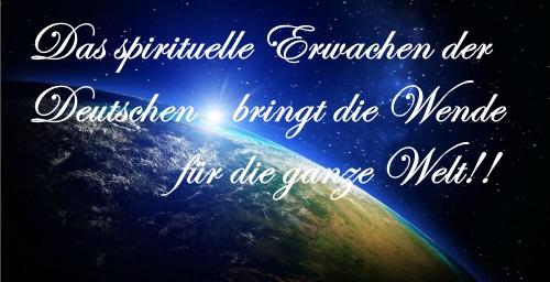 Spirituelles Erwachen Deutschlands
