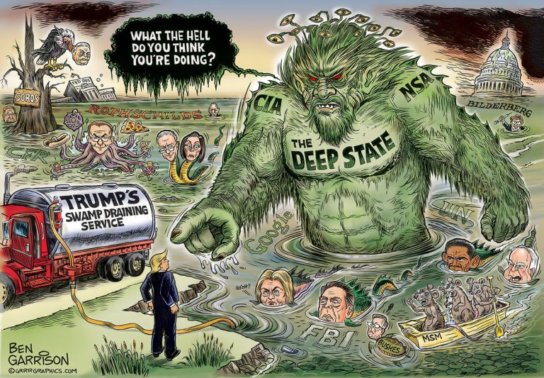 Deep State Donald Trump